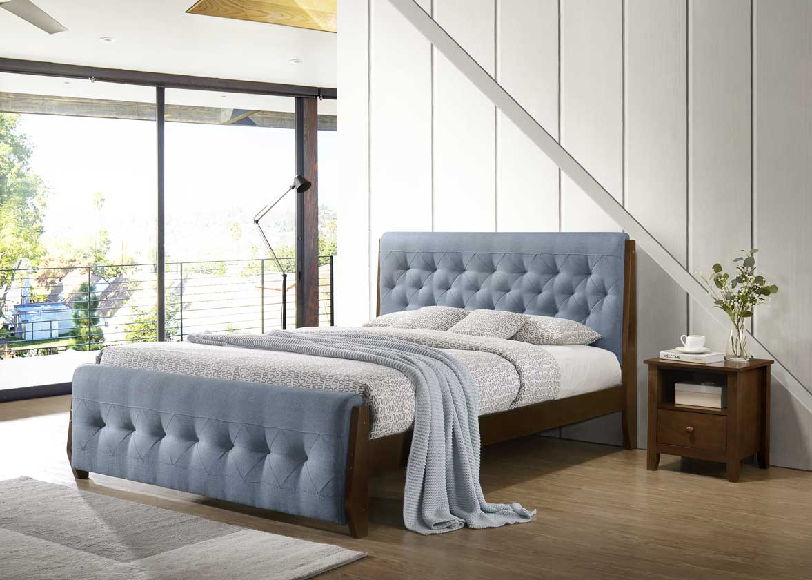 6a208c588a2 Тапицирано легло SKY:Леглото е с включена е цената подматрачна рамка за  двулицев матрак 160